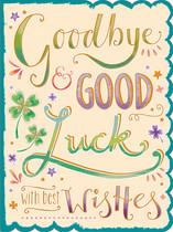 XL kaart - Goodbye good luck
