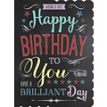 XL kaart - Happy Birthday to you
