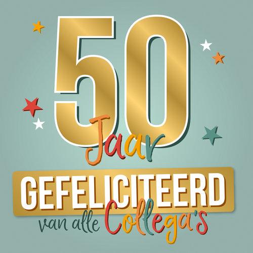XL kaart - 50 Jaar gefeliciteerd