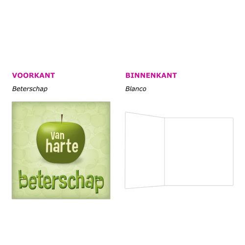 XL kaart - Van harte beterschap