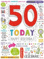 XL kaart - 50 today