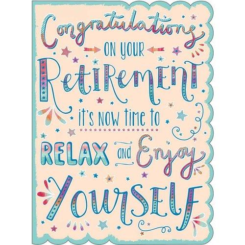 XL kaart: Congratulations on your Retirement