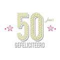50 jaar gefeliciteerd