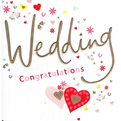 XL kaart - Wedding Congratulations