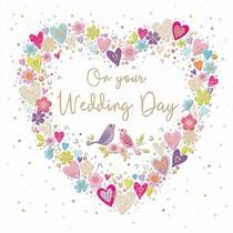 XL kaart - On your wedding day