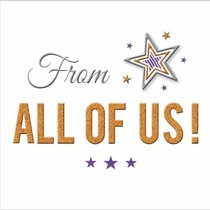 XL kaart - From all of us