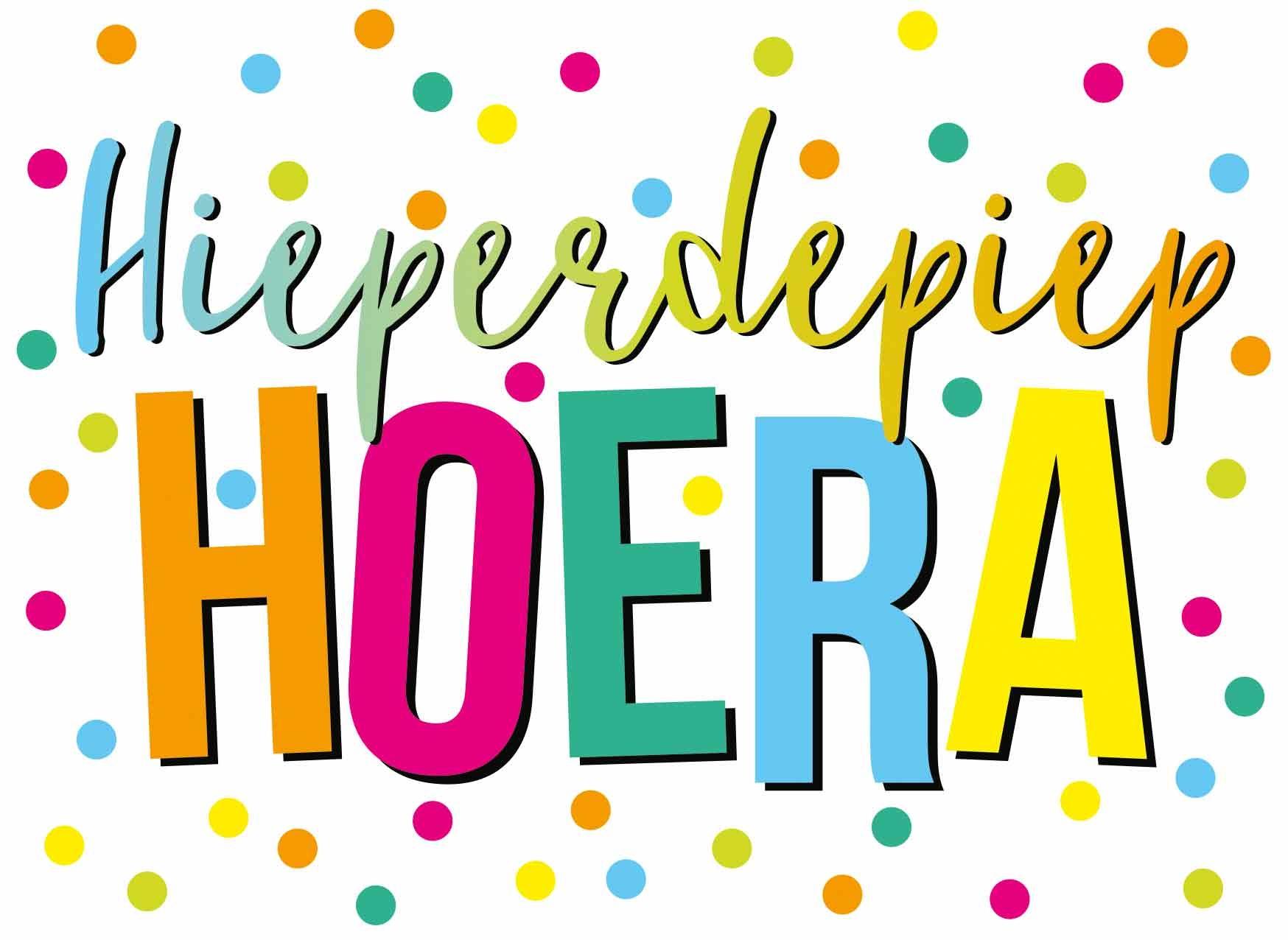 Hieperdepiep Hoera - Snelwenskaart.nl