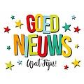Goed nieuws wat fijn