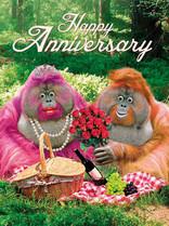 XL kaart - Happy Anniversary