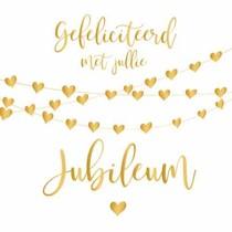 Gefeliciteerd met jullie jubileum