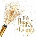 Mini kaartje - To the happy couple