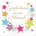 XL kaart - Gefeliciteerd van ons allemaal