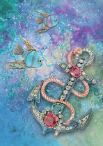 Jewelled Anchor
