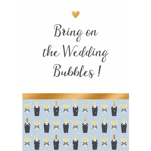 Bring on the wedding bubbles