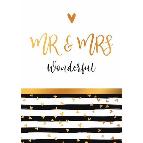 Mr & Mrs wonderful