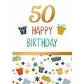 50 happy birthday