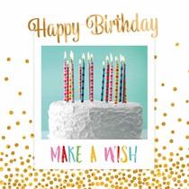 Happy birthday! Make a wish