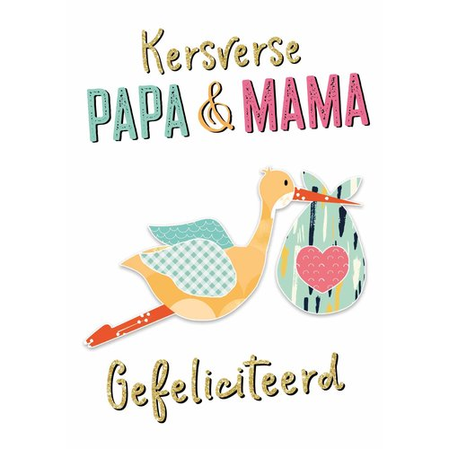 Kersverse papa & mama