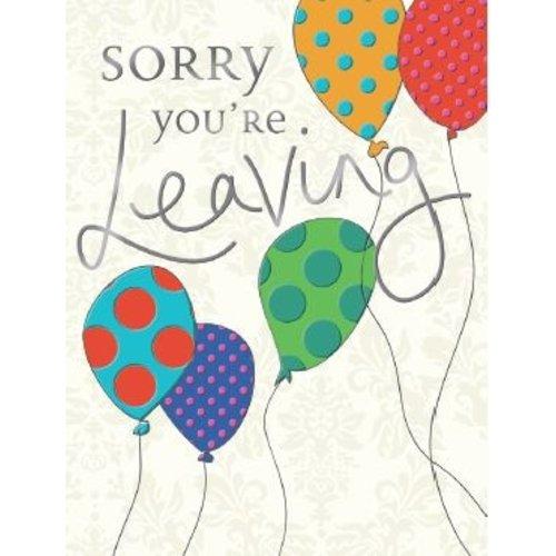 XL kaart - Sorry you're leaving