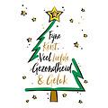 Fijne kerst, veel liefde, gezondheid & geluk