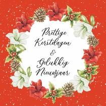 Prettige kerstdagen & gelukkig nieuwjaar