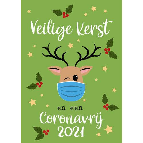 Veilige kerst en een coronavrij 2021