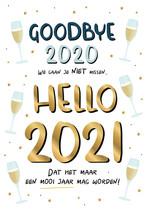 Goodbye 2020 we gaan je niet missen...
