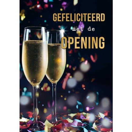 Gefeliciteerd met de opening