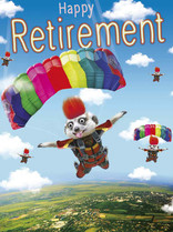 XL kaart - Happy retirement