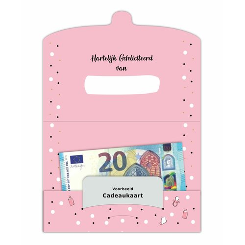 Cadeau-envelop - Voor jullie prachtige dochter