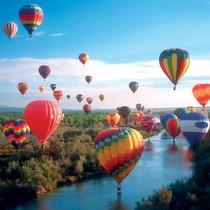 XL kaart - Luchtballonnen