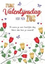 Fijne Valentijnsdag voor mijn zus