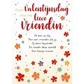 Fijne Valentijnsdag voor een lieve vriendin