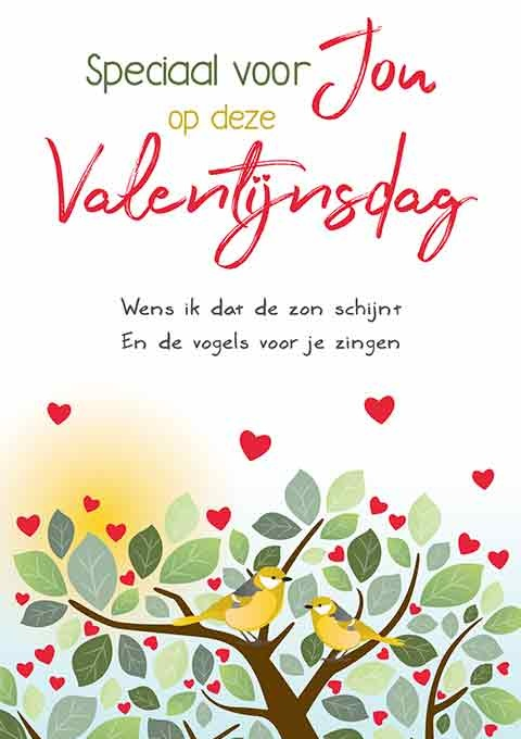 Speciaal voor jou op deze Valentijnsdag