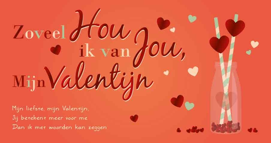Zoveel hou ik van jou, mijn Valentijn