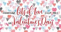 Sending lots of love your way