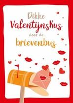 Dikke Valentijnskus door de brievenbus