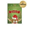 Kerstknuffel van Rudolf