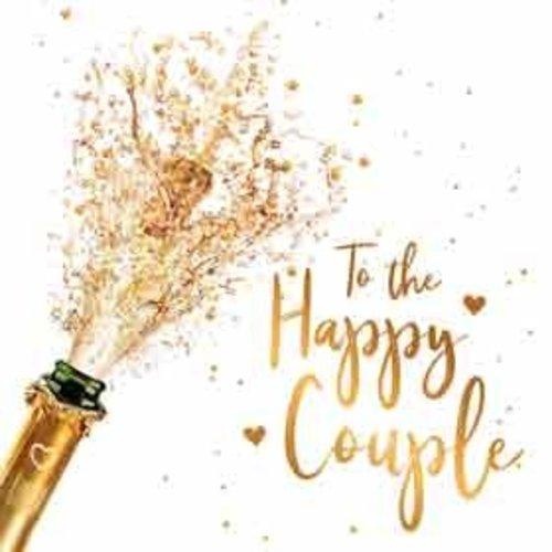 Minikaartje - To the happy couple