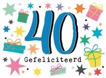 40 Gefeliciteerd