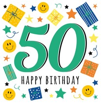 50 happy birthday