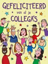 XL kaart - Gefeliciteerd van al je Collega's