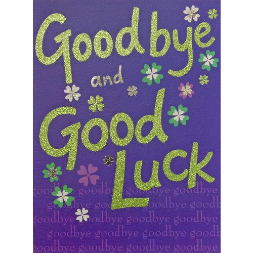 XL kaart - Goodbye and Good luck