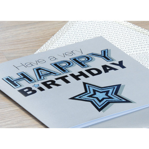 XL kaart - Have a very happy birthday