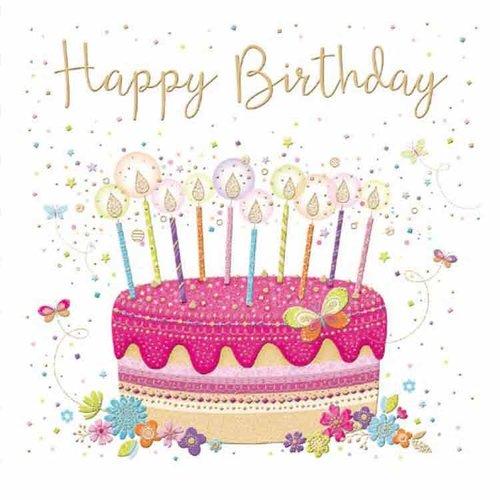 XL kaart: Happy Birthday
