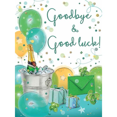 XL kaart - Goodbye & Goodluck!