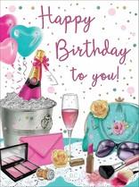 XL kaart - Happy Birthday to you!