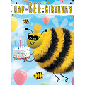 XL kaart - Hap-bee birthday