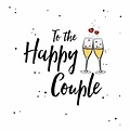 XL kaart - To the happy couple