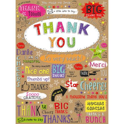 XL kaart - Thank You